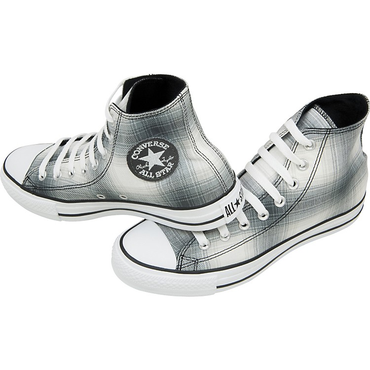 Converse Chuck Taylor All Star Plaid Hi-Tops