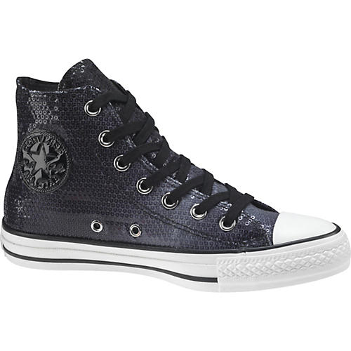 Converse Chuck Taylor All Star Sequins Hi-Top Sneakers (Grey)-thumbnail