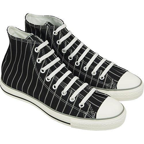 Converse Chuck Taylor All Star Strip Hi-Top Sneakers (Black/Milk)-thumbnail