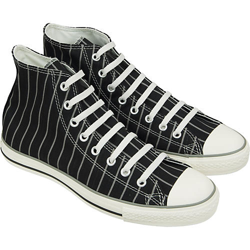 Converse Chuck Taylor All Star Strip Hi-Top Sneakers (Black/Milk)