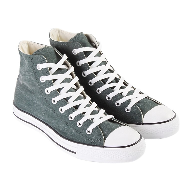 Converse Chuck Taylor All Star Vintage Hi-Top Sneakers (Green) Size 10