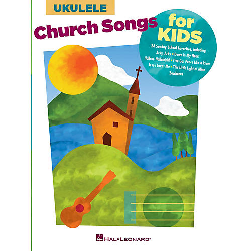 Hal Leonard Church Songs for Kids (for Ukulele) Ukulele Series Softcover-thumbnail