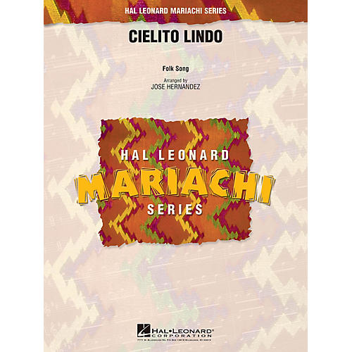 Hal Leonard Cielito Lindo Concert Band Level 2.5 Arranged by Jose Hernandez-thumbnail