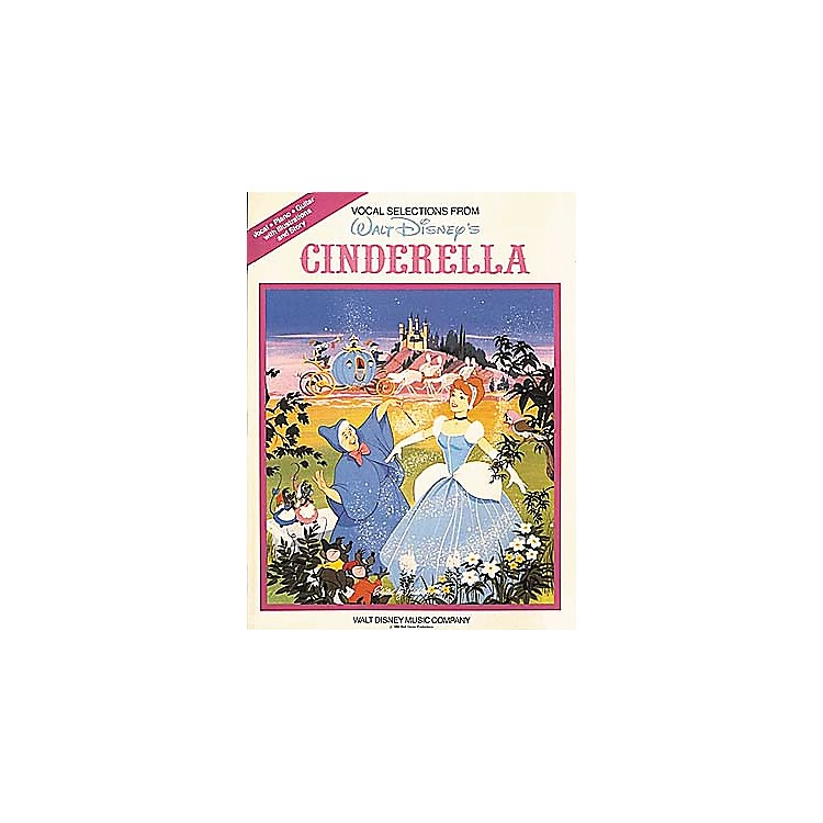 Hal Leonard Cinderella Vocal Selections Piano, Vocal, Guitar Songbook