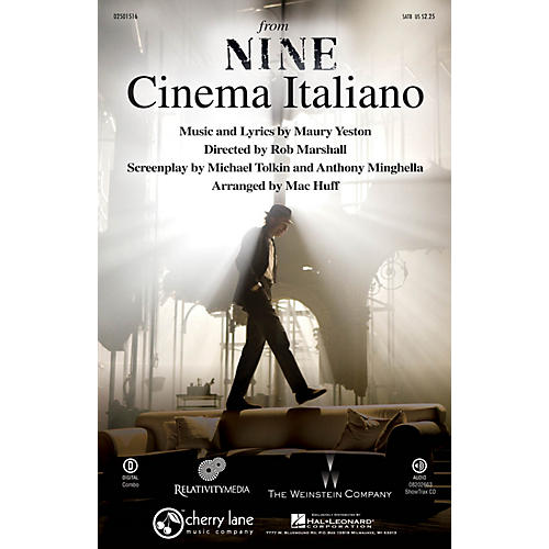 Cherry Lane Cinema Italiano (from Nine) SATB arranged by Mac Huff-thumbnail