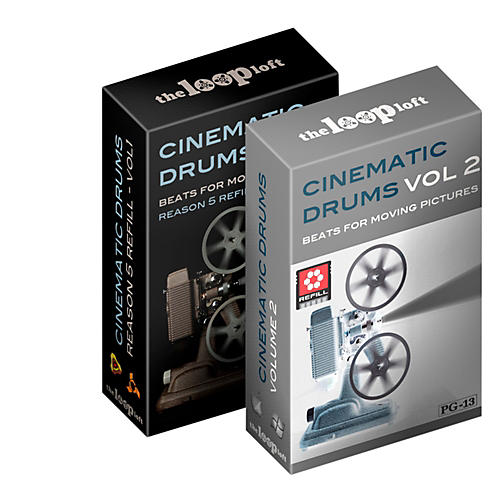 The Loop Loft Cinematic Drums Reason ReFill Bundle Software Download-thumbnail