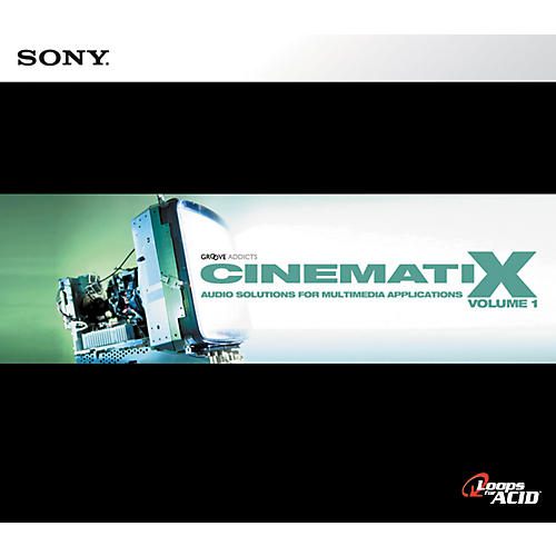 Sony Cinematix: Volume One ACID Loop CD-thumbnail