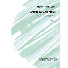 Peer Music Ciranda das sete Notas Peermusic Classical Series Softcover Composed by Heitor Villa-Lobos