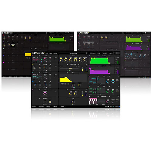 Future Audio Workshop Circle2 Synthesizer Software Download-thumbnail