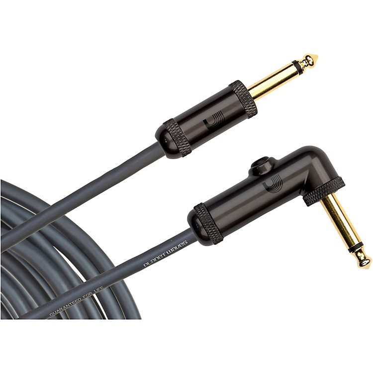 Planet Waves Circuit Breaker Cable Right Angle-Straight  20 Foot