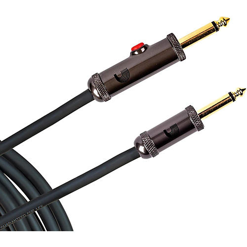 D'Addario Planet Waves Circuit Breaker Instrument Cable with Latching Cut-Off Switch, Straight Plug, by D'Addario-thumbnail