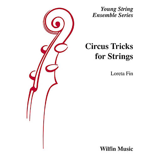 Alfred Circus Tricks for Strings String Orchestra Grade 1 Set