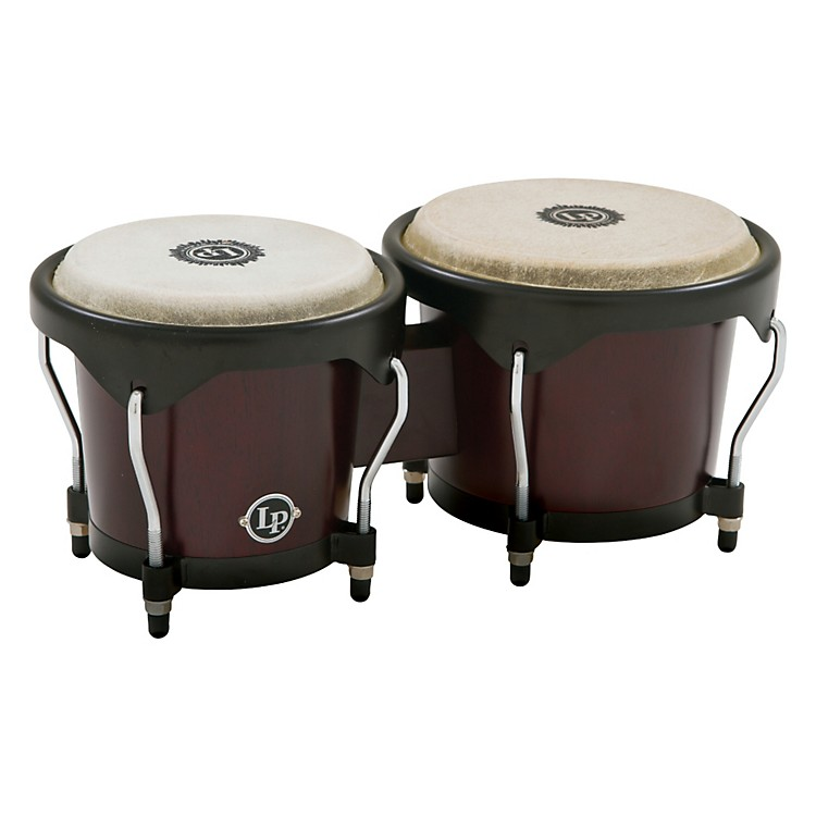 LP City Bongos Dark Wood