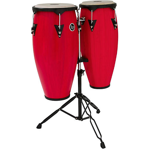 LP City Conga Set with Stand Red