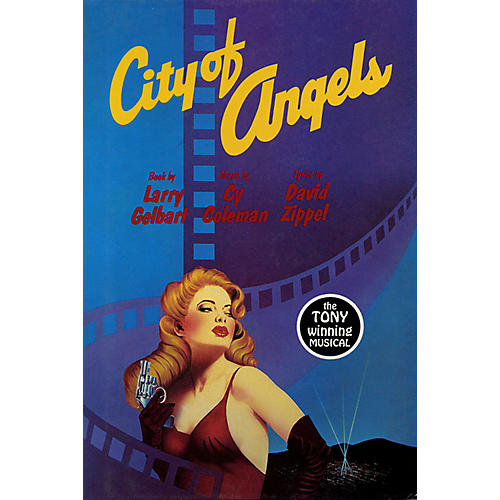 Applause Books City of Angels Applause Libretto Library Series Softcover Written by Larry Gelbart