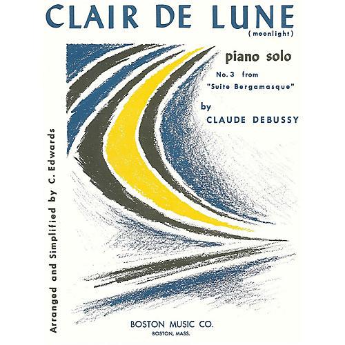 Music Sales Clair De Lune No. 3 Suite Music Sales America Series-thumbnail
