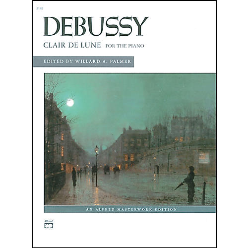 Alfred Clair de lune (from Suite Bergamasque) Piano Solo Book