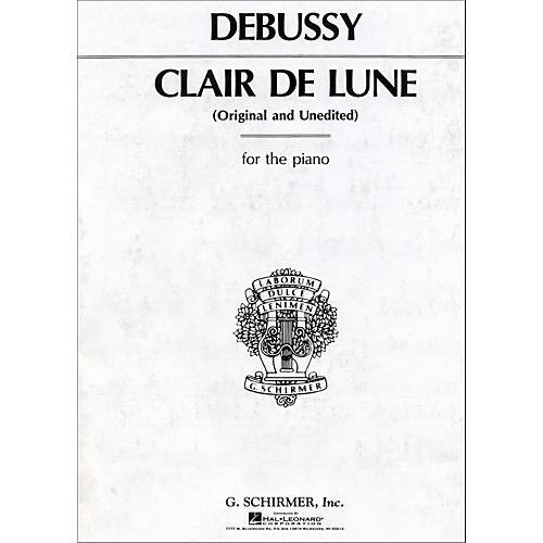 G. Schirmer Claire De Lune