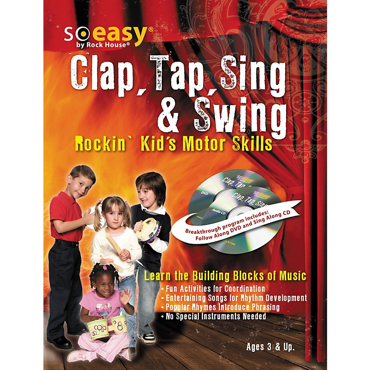 Rock House Clap, Tap, Sing & Swing: Rockin' Kid's Motor Skills DVD/CD