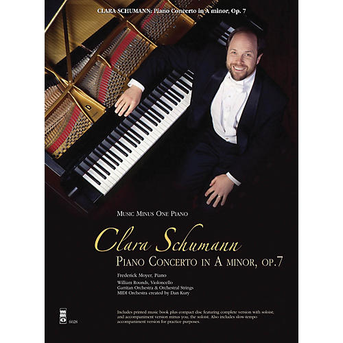 Music Minus One Clara Schumann: Piano Concerto in A Minor, Op. 7 Music Minus One Softcover with CD by Clara Schumann-thumbnail