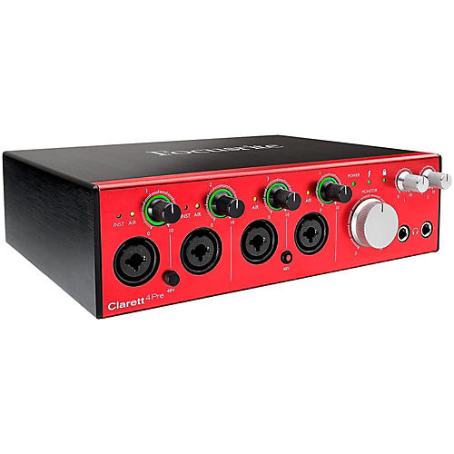 Focusrite Clarett 4Pre Thunderbolt Audio Interface-thumbnail