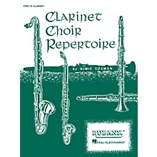 Rubank Publications Clarinet Choir Repertoire (Bass Clarinet Part) Ensemble Collection Series Composed by Various