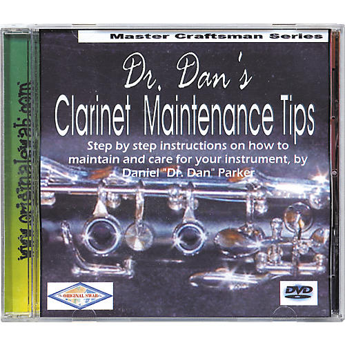 Dr. Dan's Clarinet Maintenance DVD