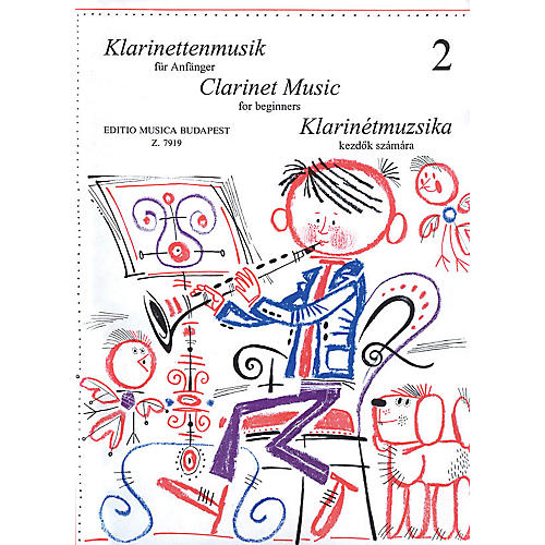 Editio Musica Budapest Clarinet Music for Beginners - Volume 2 EMB Series by Various