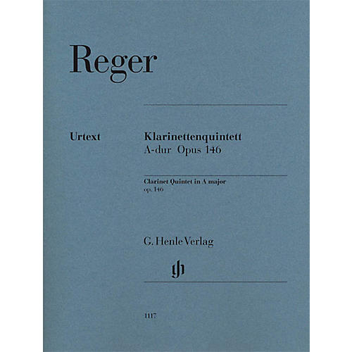 G. Henle Verlag Clarinet Quintet in A Major Op. 146 Henle Music Folios Series Softcover Composed by Max Reger