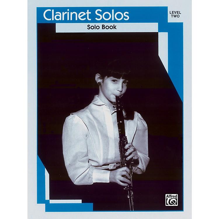 AlfredClarinet Solos Level II Solo Book