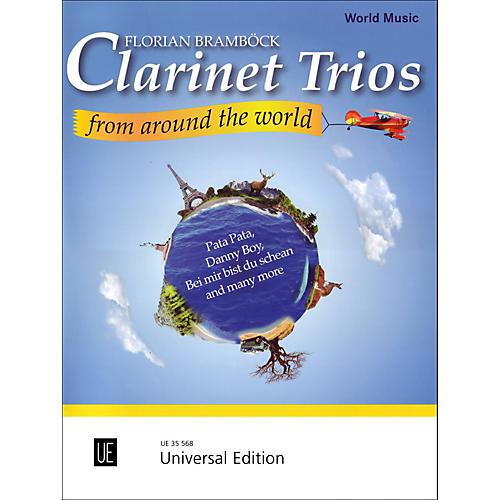 Carl Fischer Clarinet Trios From Around the World