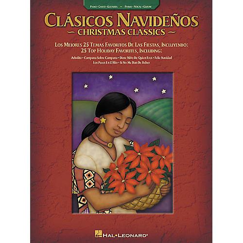 Hal Leonard Clasicos Navidenos Christmas Classics Piano, Vocal, Guitar Songbook