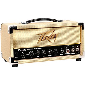 peavey classic 20 micro 20w tube guitar amp head with 2x12 guitar speaker cabinet musician 39 s. Black Bedroom Furniture Sets. Home Design Ideas