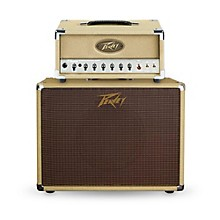 Peavey Classic 20 Micro 20W Tube Guitar Amp Head with 60W 1x12 Guitar Speaker Cabinet