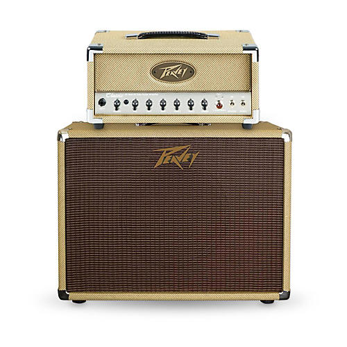 Peavey Classic 20 Micro 20W Tube Guitar Amp Head with 60W 1x12 Guitar Speaker Cabinet-thumbnail