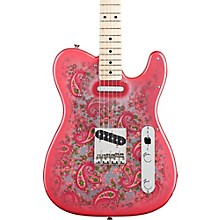 Fender Classic '69 Pink Paisley Telecaster Maple Fingerboard