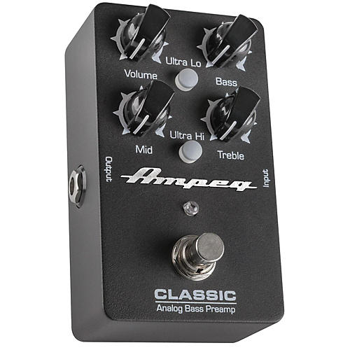 ampeg classic analog bass preamp pedal musician 39 s friend. Black Bedroom Furniture Sets. Home Design Ideas