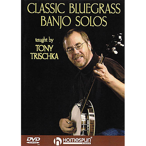 Homespun Classic Bluegrass Banjo Solos (DVD)
