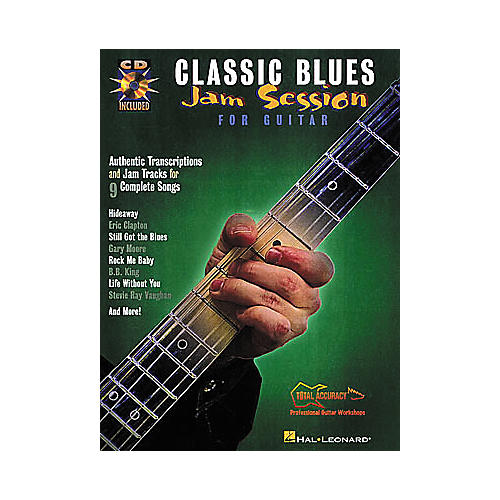 Hal Leonard Classic Blues Jam Session for Guitar Book with CD