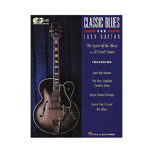 Hal Leonard Classic Blues for Easy Guitar Book