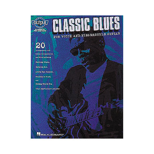 Hal Leonard Classic Blues for Voice and Fingerstyle Guitar Book