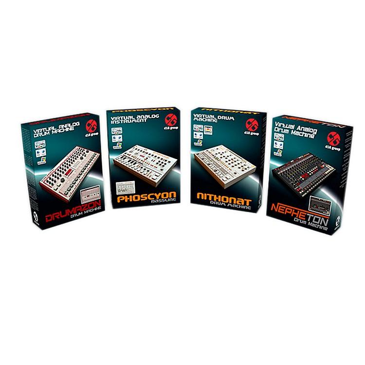 D16 GroupClassic Boxes Bundle  emulations of TB303/TR606/ TR808/TR909 (VST/AU) Software DownloadSoftware Download