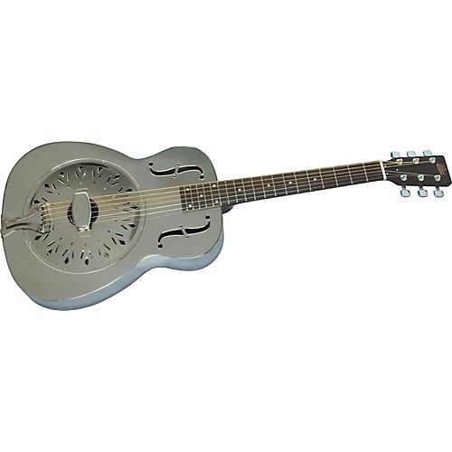 Rogue Classic Brass Body Resonator Guitar
