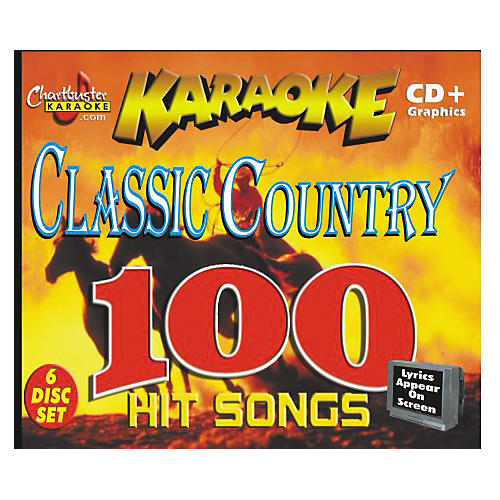 Chartbuster Karaoke Classic Country Volume 1 CD+G