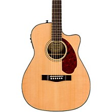 Fender Classic Design Series CC-140SCE Cutaway Concert Acoustic-Electric Guitar Natural