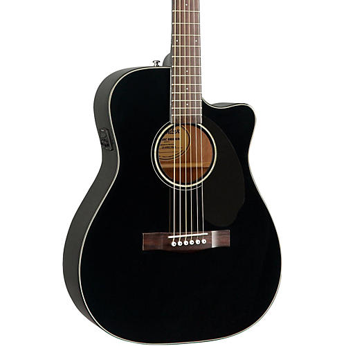 Fender Classic Design Series CC-60SCE Cutaway Concert Acoustic-Electric Guitar-thumbnail
