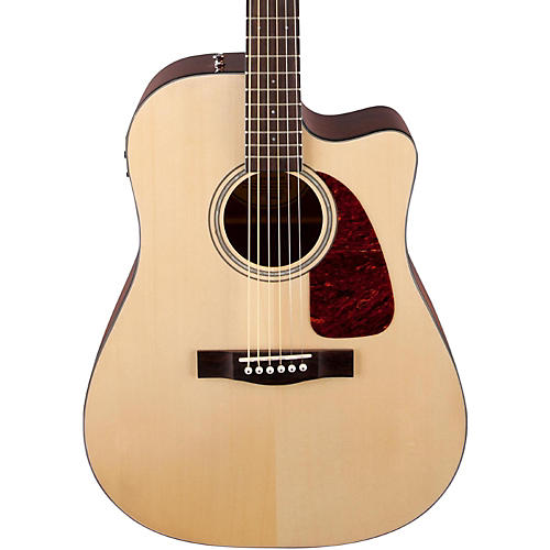 Acoustic And Electric Designs: Fender Classic Design Series CD-140SCE Cutaway Dreadnought