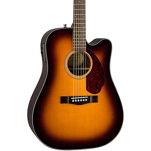 fender classic design series cd 140sce cutaway dreadnought acoustic electric guitar sunburst. Black Bedroom Furniture Sets. Home Design Ideas