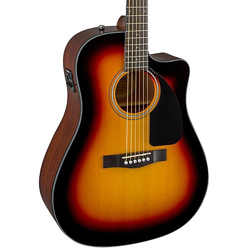 Acoustic And Electric Designs: Fender Classic Design Series CD-60CE Cutaway Dreadnought