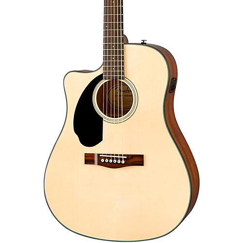 Fender Classic Design Series CD-60SCE Cutaway Dreadnought Left-Handed Acoustic-Electric Guitar